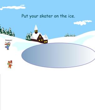 Ice Skating Smart Board Attendance