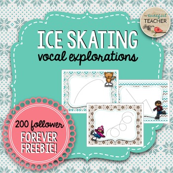 Ice Skating Vocal Exploration Activity {200 Follower Forev