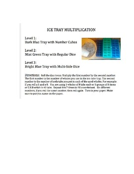 Ice Tray Multiplication