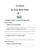 Ice Wreck by Lucille Recht Penner Comprehension Packet