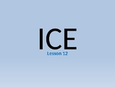 Ice and its properties as a liquid and its role in weathering rock