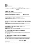 Ice-breaker Student Survey