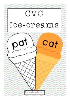 Ice-cream CVC words