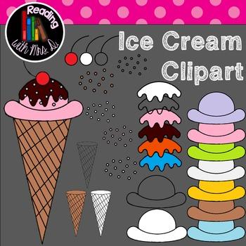 Ice Cream Cones Clipart