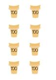 Ice cream Number Bonds to 100