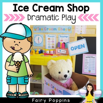 Ice-cream Shop Role-Play Pack (Dramatic Play)