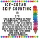 Ice-cream Skip Counting- 2s, 3s, 5s, 10s