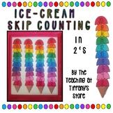 Ice-cream Skip Counting- 2s, 3s, 5s, 10s