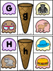 Ice cream beginning sounds & capital to lowercase matching