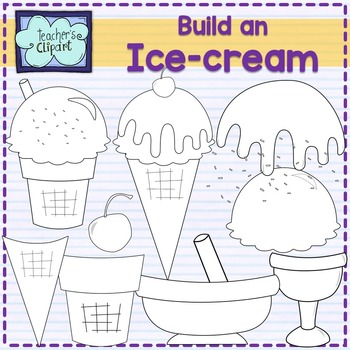 Create / Build an Ice cream clip art