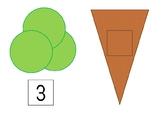 Ice cream cones | Teaching 1 -5