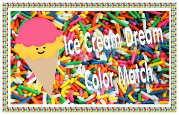 Ice cream dream color match