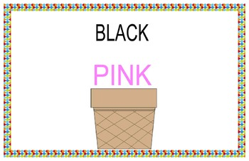 Ice cream dream color match
