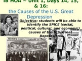 Causes of the U.S. Great Depression - lecture