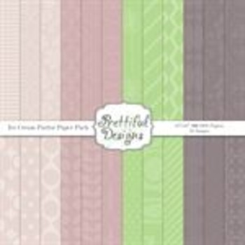 IceCream Parlor Paper Pack