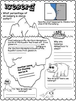 Iceberg Doodle Notes Freebie