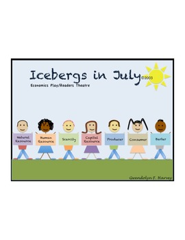 Icebergs In July - Economics for children