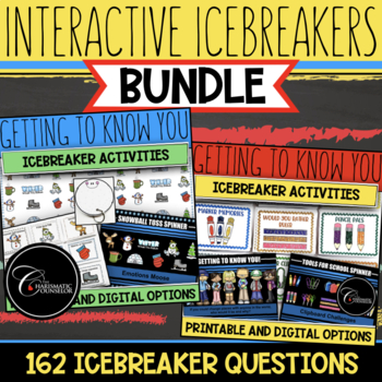 Getting To Know You Icebreaker BUNDLE - Game Boards - Spinners