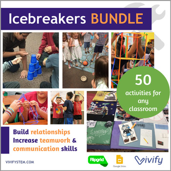 12 STEM Icebreaker Challenges {Growing Bundle}