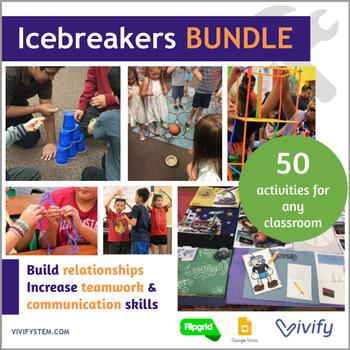 12 STEM Icebreaker Challenges {Growing Bundle}