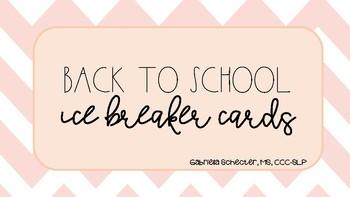 Icebreaker Card Deck