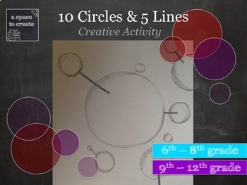 Creative Exercise - Back to School Activity