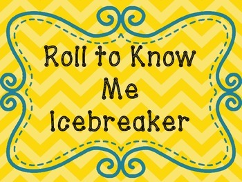 Icebreaker Dice Game Poster