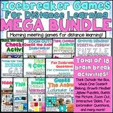 Icebreaker Games (Brain Break Games) for Distance Learning