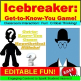 Icebreaker:  Get to Know You Game PowerPoint