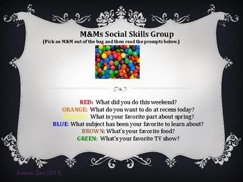 Icebreaker M&M Social Skills Game