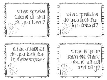 Icebreaker Question Cards