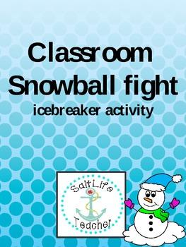 Icebreaker- Snowball Fight