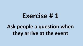 Icebreaker exercises