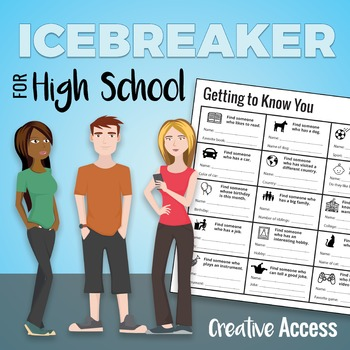 Icebreaker for High School Students [Getting to Know You Bingo Game!]