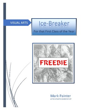 Icebreaker for that first day in Art class