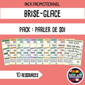 Icebreaker to teach French/FFL/FSL: BUNDLE 8 resources