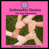 Twelve NO PREP Icebreaker Games - EDITABLE