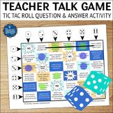 Icebreakers Game for Teachers