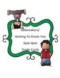 Icebreakers Quiz Quiz Trade Cards