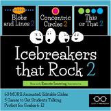 Icebreakers That Rock 2: Three-Game Bundle
