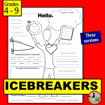 Icebreakers for Middle School