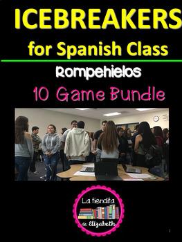 Icebreakers for Spanish Class - Rompehielos para la clase de español