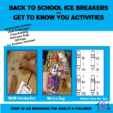 Get to Know You Activities for Students & Staff