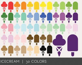 Icecream Digital Clipart, Icecream Graphics, Icecream PNG