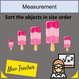 Icecream Size ordering