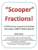 Icecream activity Learn simple fractions. Fraction Craft Activity Bulletin Board