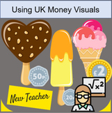 Icecream parlour Role Play UK Money