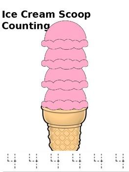 Icecream scoop counting