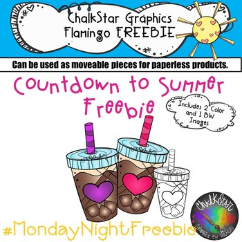 Iced Coffee Freebie- Chalkstar Graphics