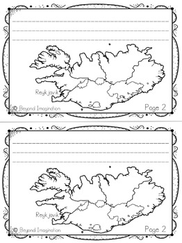 Iceland Country Study   48 Pages for Differentiated Learning + Bonus Pages